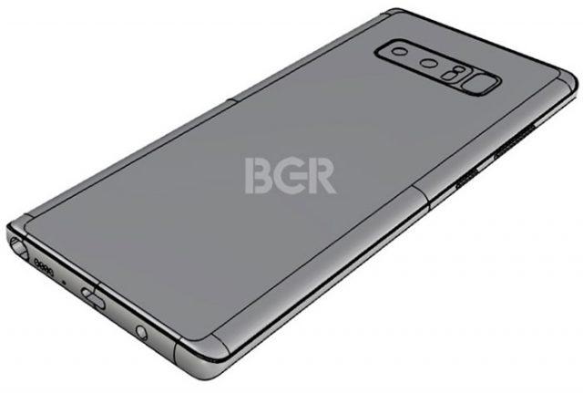 Schémas Galaxy Note 8 bis