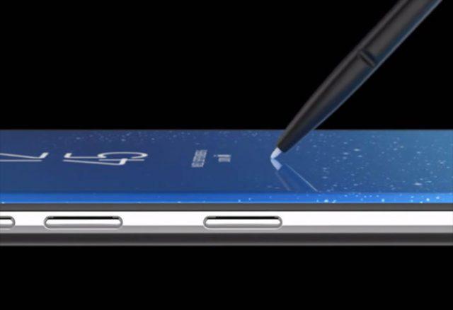 Présentation Galaxy Note 8