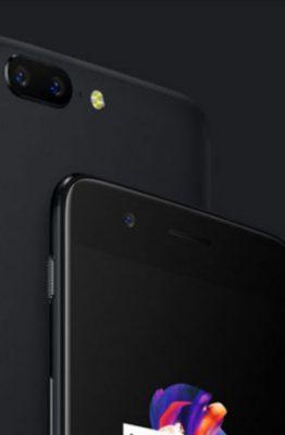 Promotion OnePlus 5