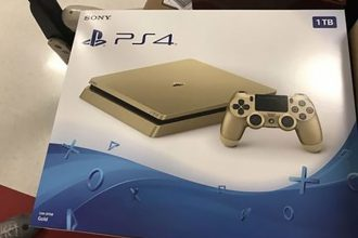 PS4 Slim dorée : image 2