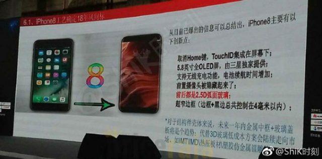 Slide iPhone 8