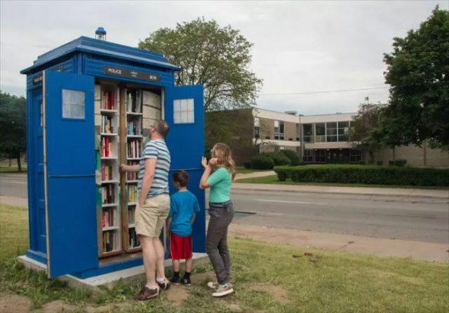 Tardis Bibliothèque : image 1