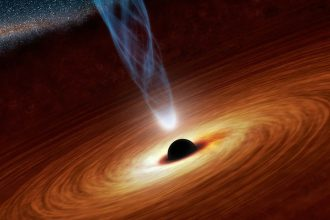 Trou noir moléculaire