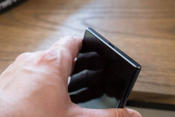 Prise en main Xperia XZ Premium : image 11