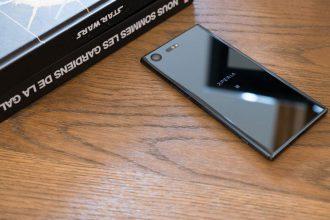 Prise en main Xperia XZ Premium : image 5