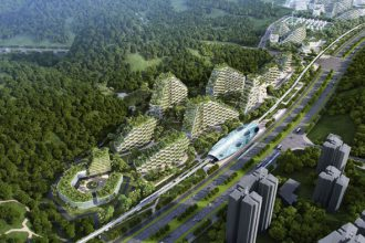 Ville-Forêt Chine : image 1