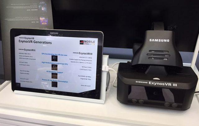 Quand Samsung teste un casque autonome de réalité virtuelle — Exynos VR III