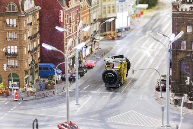 Miniatur Street View