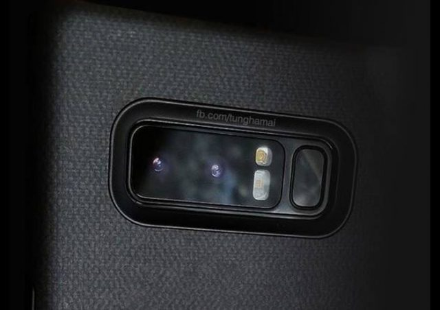 Photo Galaxy Note 8