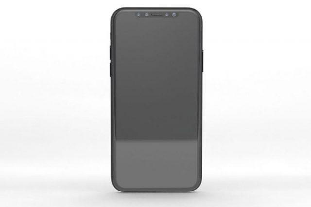 Rendu iPhone 8 : image 1
