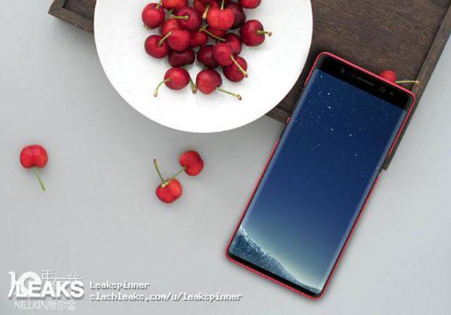 Rendu Galaxy Note 8 1
