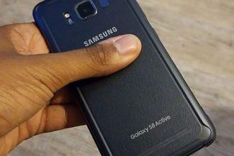 Fuite Galaxy S8 Active