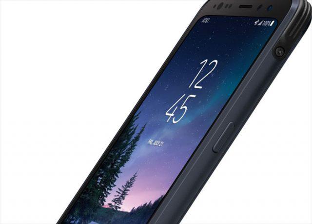 Rendu Galaxy S8 Active