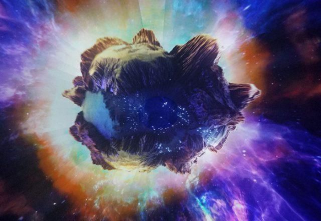 Simulateur astéroïdes
