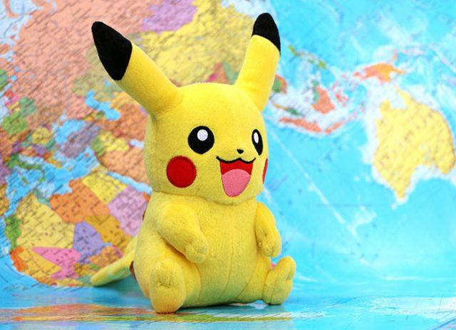 Un Pikachu spécial et un bug dans les arènes — Pokemon GO