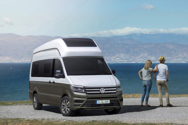 volkswagen d voile un nouveau camping car le california xxl. Black Bedroom Furniture Sets. Home Design Ideas