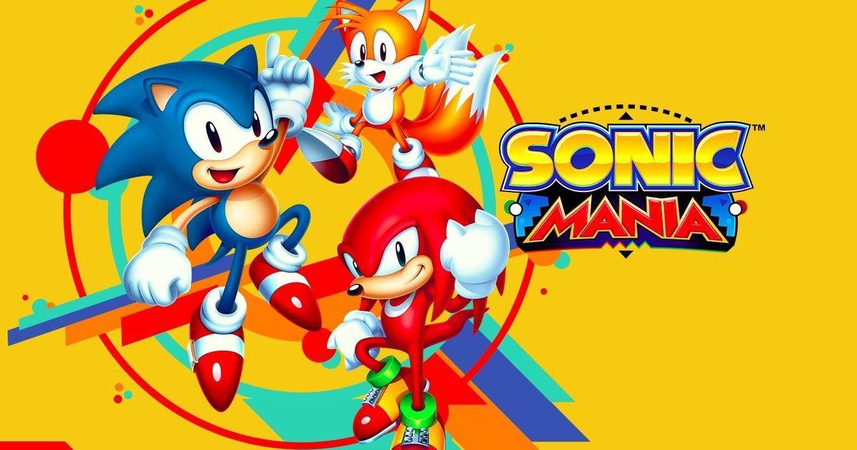 Sonic Mania va revenir en boîte moins le Plus