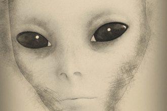 Portrait extraterrestre