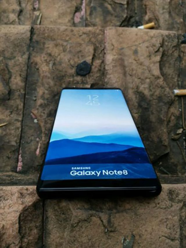 Maquette Galaxy Note 8 : image 1