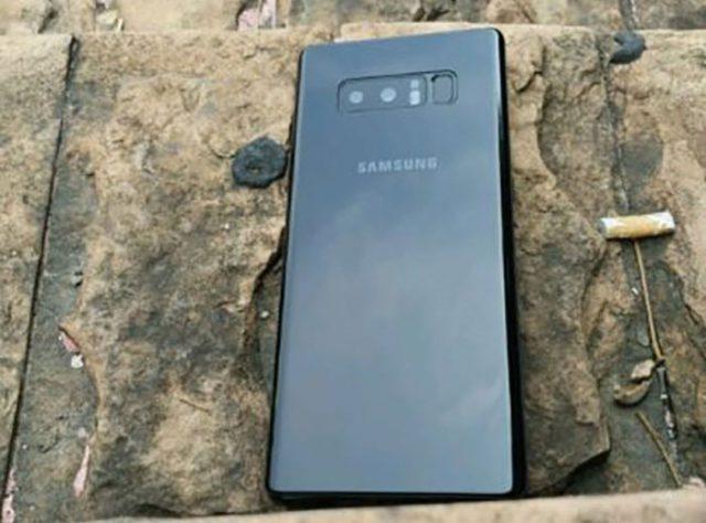 Maquette Galaxy Note 8
