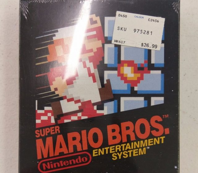 super mario bros ebay