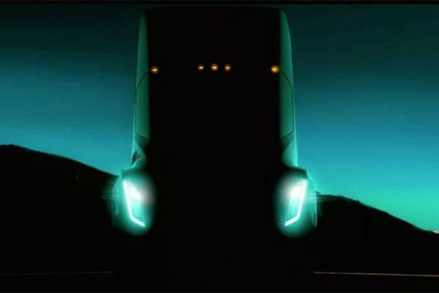 Camion Tesla