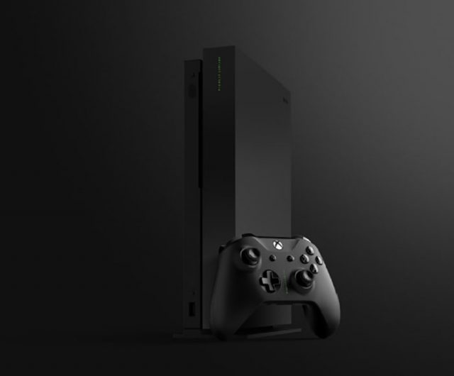 la xbox one x project scorpio a l 39 air de bien se vendre. Black Bedroom Furniture Sets. Home Design Ideas