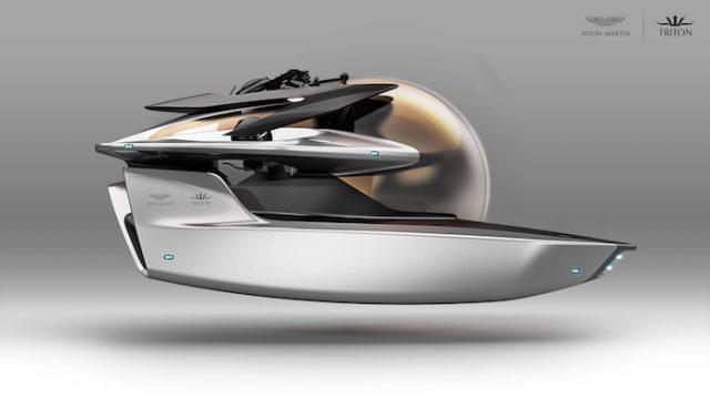 Aston Martin se lance dans un concept de sous-marin de luxe