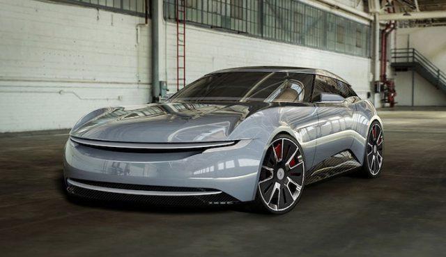 Alcraft GT, une nouvelle supercar électrique britannique