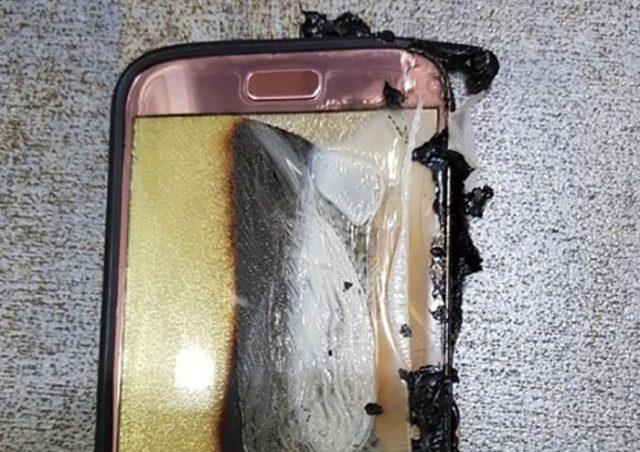 Explosion Galaxy S7 : image 1
