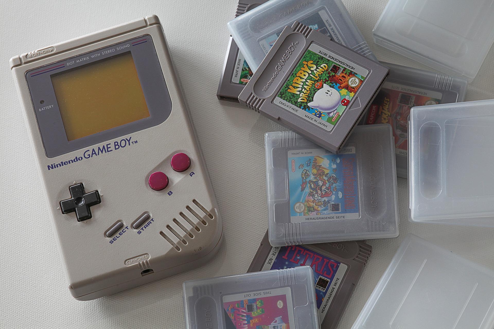 Un Game Boy de Nintendo