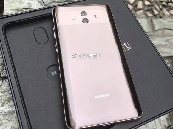 Huawei officialise ses Mate 10 et Mate 10 Pro