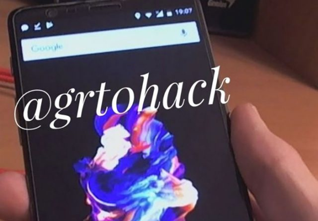 Photo OnePlus 5T : image 1