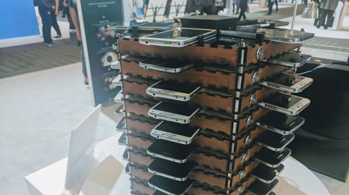 Samsung a créé un RIG de minage de Bitcoins avec des Galaxy S5