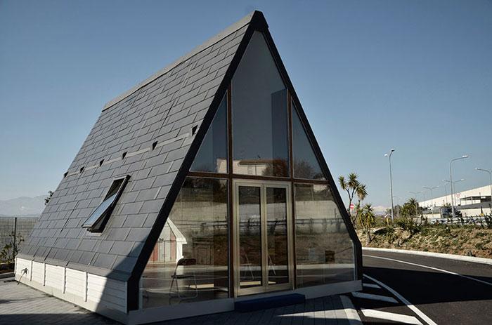Cette étonnante maison met six heures à être construite et elle coûte 33 000 $