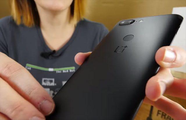 Vidéo OnePlus 5T