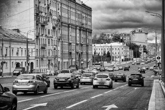 Selfie Moscou