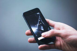 L'application Uber en fonctionnement