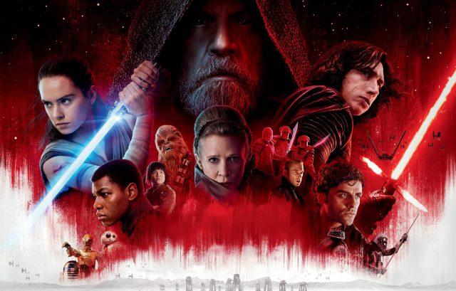 Star Wars : Les Derniers Jedi va être diffusé dans l'Espace