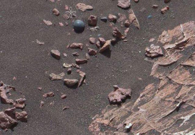 Boulet canon Mars