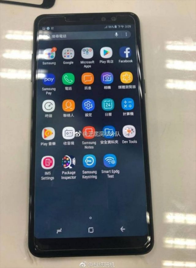 Galaxy A8+ (2018) : image 1