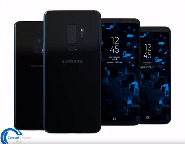 Concept Galaxy S9