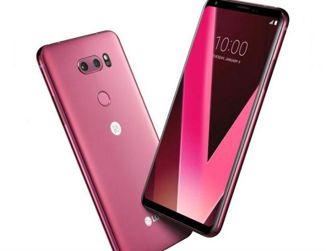 LG V30 rose : image 1