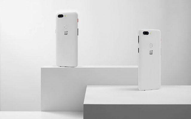 OnePlus 5T blanc
