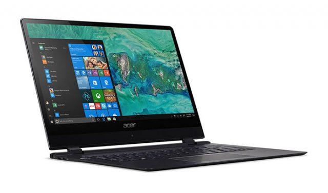 Acer Swift 7 : un ordinateur portable ultrafin de seulement 8.98 mm d'épaisseur