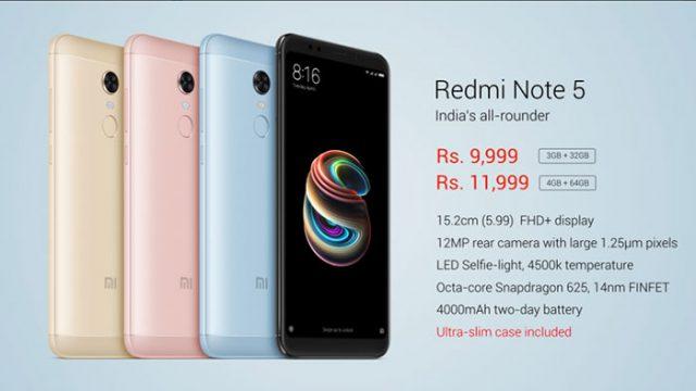 Xiaomi Redmi Note 5 : image 3