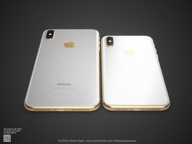 iPhone X doré : image 10