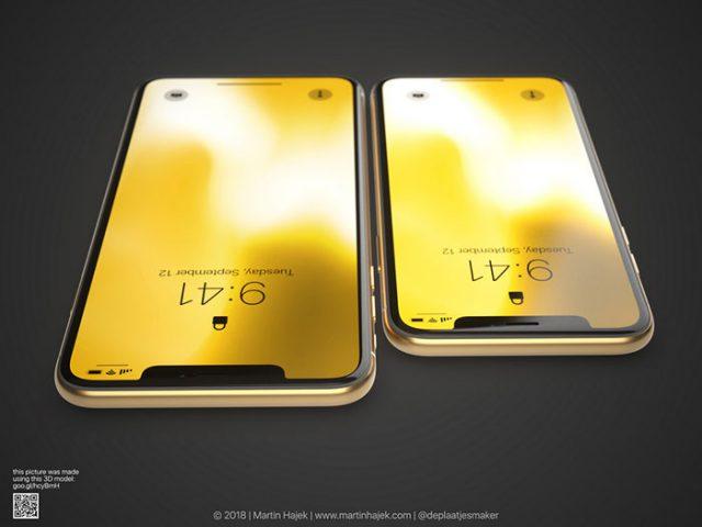 iPhone X doré : image 11