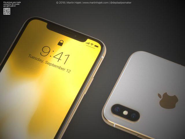 iPhone X doré : image 3