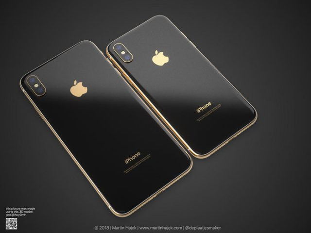 iPhone X doré : image 6